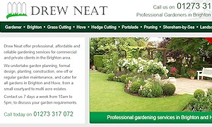 Successful Crowborough gardener expands into Haywards Heath, Maidstone, Hawkhurst, Brighton and Lewes.